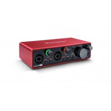 FOCUSRITE Scarlett 2i2 3rd Gen аудио интерфейс USB