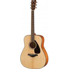 Yamaha FG800M NAT акустическая гитара, дредноут, верхняя дека массив ели, цвет натуральный