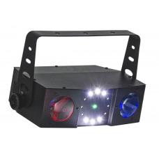 Involight Ventus M световой эффект, 66 шт. RGBW, 12шт. 1W, лазер 50mW-G, 100mW-R