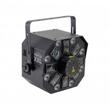 Involight Ventus XXL - световой эффект 6шт, 3 Вт RGBWA+UV, 12шт. 1Вт W, лазер 50мВт