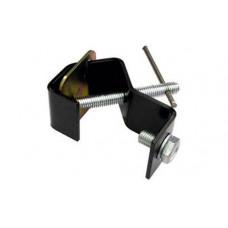 IMLIGHT C28 Струбцина для крепления на трубу d20-28 мм. Сталь. Нагрузка 8 кг. В черном цвете.