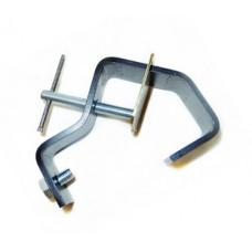 IMLIGHT C60 Струбцина для крепления на трубу d50-60 мм . Сталь. Нагрузка до 16 кг. В черном цвете.