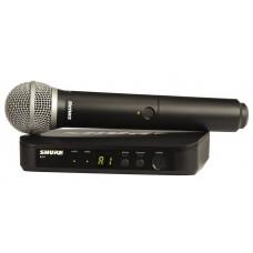 SHURE BLX24E/PG58 M17 радиосистема вокальная с капсюлем микрофона PG58
