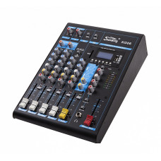 Soundking KG06 Микшерский пульт. 6 каналов.