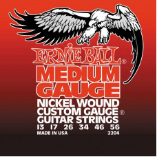 Ernie Ball 2204 струны для электрогитары 13-56