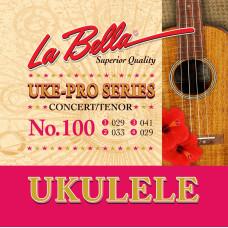 LA BELLA Set 100 Tenor/Concert струны для укулеле тенор/концерт