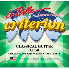 La Bella C750 Criterion струны для классической гитары