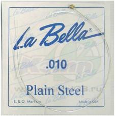 La Bella CPS010 отдельная первая струна, 010, сталь