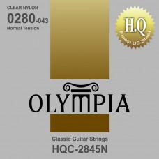 Olympia HQC2845N струны для классической гитары чистый нейлон, нормальное натяжение