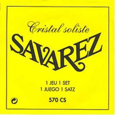 SAVAREZ 570CS Cristal Soliste Yellow high tension струны для классич. гитары, тяжёлое натяжение