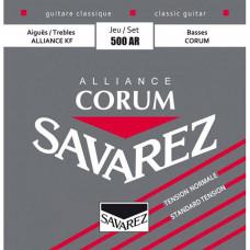Savarez 500AR Alliance Corum струны для классической гитары, нейлон, нормальное натяжение
