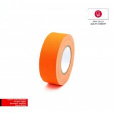 Профессиональный тейп 120mesh @trueGAFF 25мм/9м - Ярко Оранжевый /на тканевой основе для киносъемок и сцен тип Gaffer Pro tape