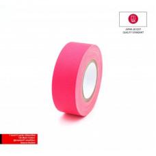 Профессиональный тейп 120mesh @trueGAFF 25мм/9м - Ярко Розовый /на тканевой основе для киносъемок и сцен тип Gaffer Pro tape