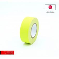 Профессиональный тейп 120mesh @trueGAFF 25мм/9м - Ярко Желтый /на тканевой основе для киносъемок и сцен тип Gaffer Pro tape /