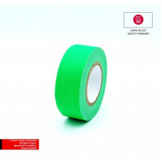 Профессиональный тейп 120mesh @trueGAFF 25мм/9м - Ярко Зеленый /на тканевой основе для киносъемок и сцен тип Gaffer Pro tape