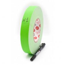 Клейкая лента Gaffer Tape@MATT - Chroma Key Гаффа тейп 25мм/50м - Хрома кей Светло-Зеленый
