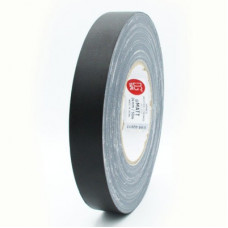 Клейкая лента Gaffer Tape@MATT - Гаффа тейп 25мм/50м - Матовый Черный