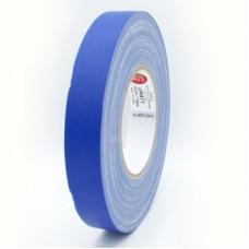 Клейкая лента Gaffer Tape@MATT - Гаффа тейп 25мм/50м - Матовый Синий Матовая высококачественная тканевая лента