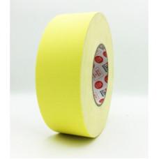 Клейкая лента Gaffer Tape@MATT - Гаффа тейп 50мм/50м - Желтый