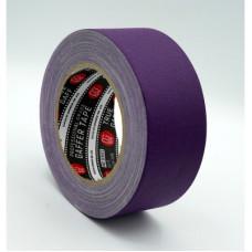 Профессиональный тейп 120mesh @trueGAFF 50мм/25м - Фиолетовый /на тканевой основе для киносъемок и сцен тип Gaffer Pro tape