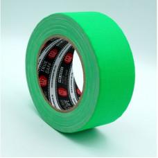 Профессиональный тейп 120mesh @trueGAFF 50мм/25м - Ярко Зеленый (Светится в ультрафиолете)