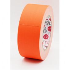 Клейкая лента Gaffer Tape@ultraMATT - Гаффа тейп 50мм/25м - Оранжевый(Светится в ультрафиолете)