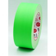 Клейкая лента Gaffer Tape@ultraMATT - Гаффа тейп 50мм/25м - Зеленый (Светится в ультрафиолете)