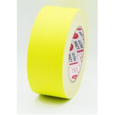 Клейкая лента Gaffer Tape@ultraMATT - Гаффа тейп 50мм/25м - Желтый (Светится в ультрафиолете)