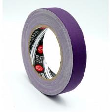 Профессиональный тейп 120mesh @trueGAFF 25мм/25м - Фиолетовый\ на тканевой основе для киносъемок и сцен тип Gaffer Pro tape