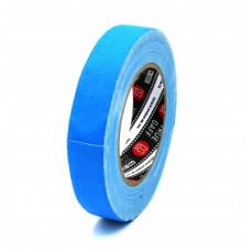 Профессиональный тейп 120mesh @trueGAFF 25мм/25м - Ярко Голубой (Светится в ультрафиолете) на тканевой основе для киносъемок и сцен тип Gaffer Pro tape