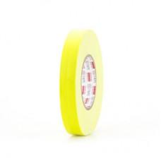 Клейкая лента Gaffer Tape@ultraMATT - Гаффа тейп 24мм/50м - Желтый (Светится в ультрафиолете)