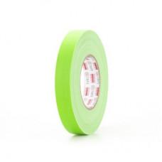 Клейкая лента Gaffer Tape@ultraMATT - Гаффа тейп 24мм/50м - Зеленый (Светится в ультрафиолете)