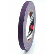 Профессиональный тейп 120mesh @trueGAFF 12мм/25м - Фиолетовый на тканевой основе для киносъемок и сцен тип Gaffer Pro tape